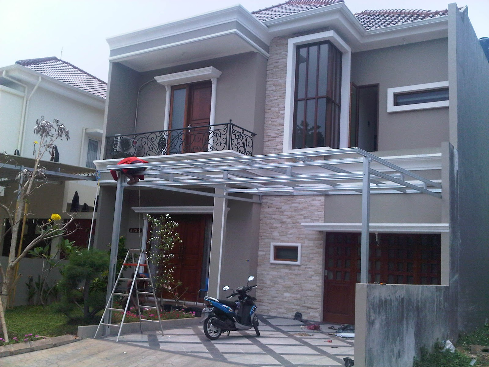 canopy baja ringan murah kanopi rumah minimalis harga