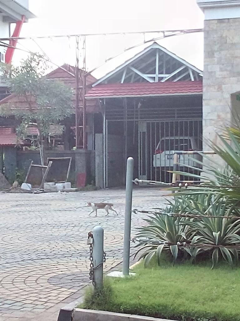 proyek canopy saung air jababeka