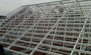 Proyek Rangka Atap Baja Ringan di Depok