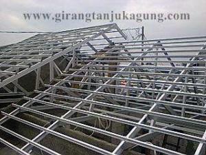 Proyek Rangka Atap Baja Ringan di Sawangan