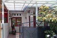 Proyek canopy baja ringan polycarbonate taman aster cikarang barat