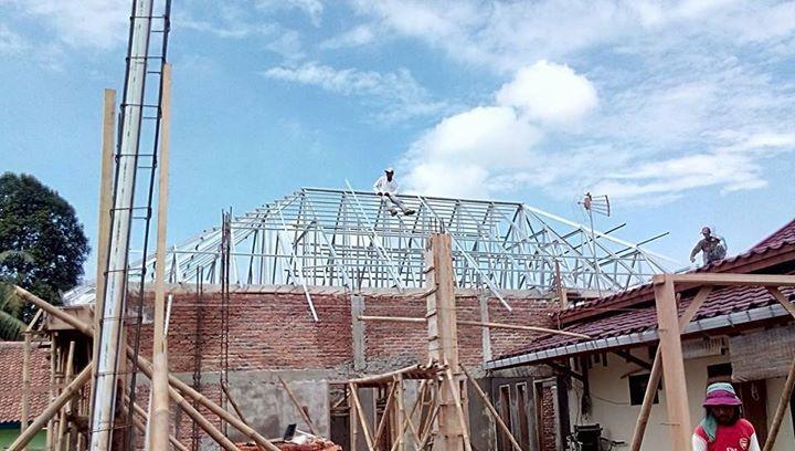 Rangka Atap Baja Ringan Model Limasan Di Citarik Jatireja Cikarang
