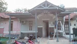kanopi model atap pelana