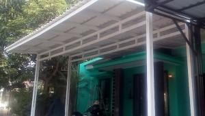 canopy alderon putih