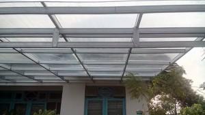 canopy baja ringan polycarbonate