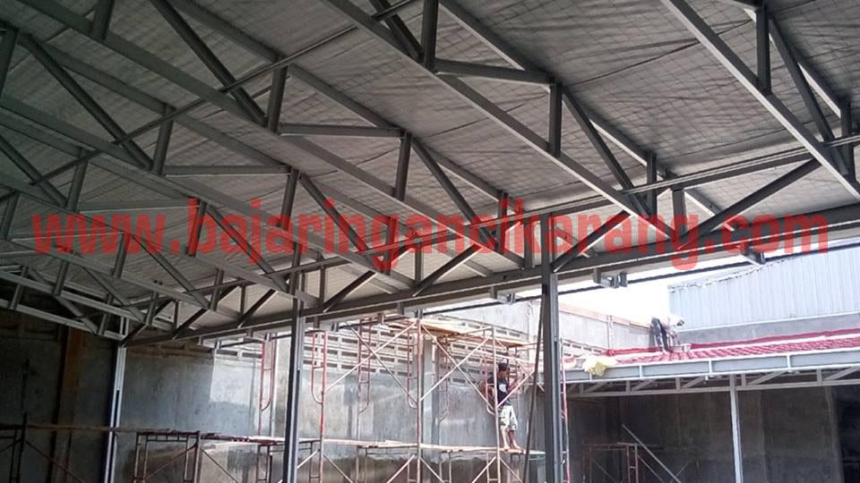 canopy baja ringan di kawasan jababeka