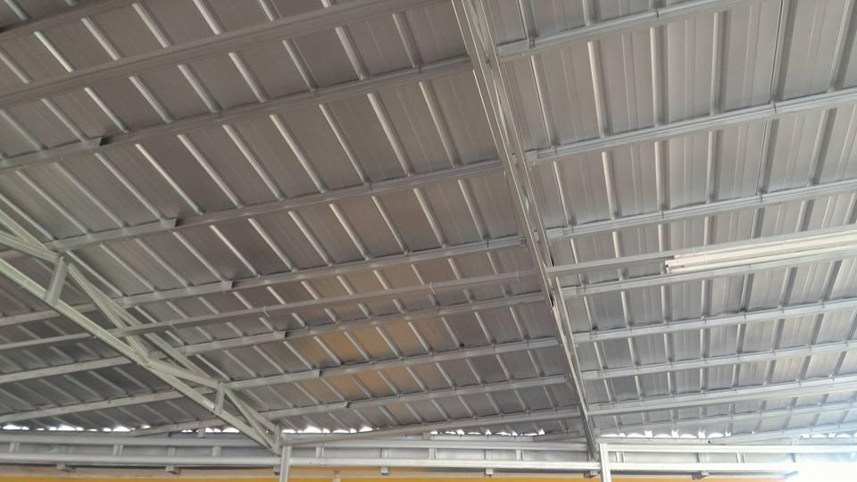 kanopi atap spandeck