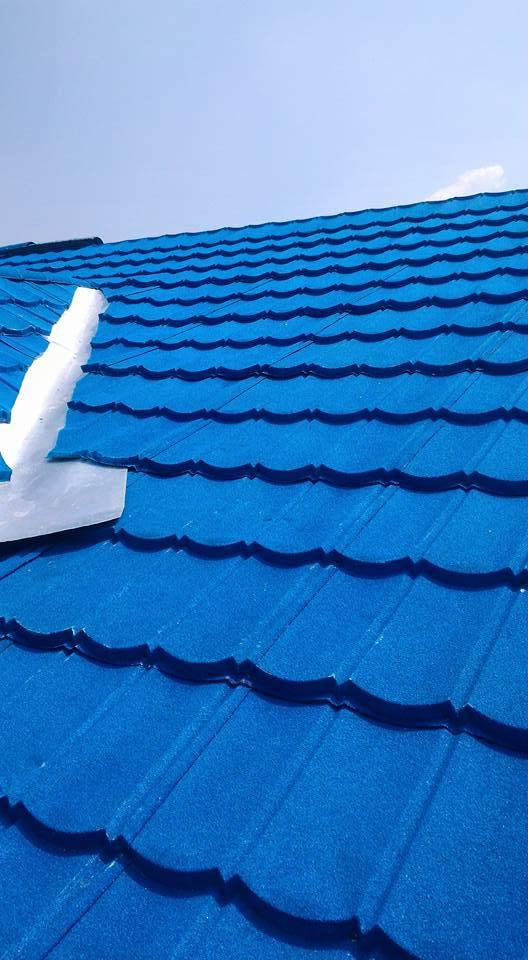 renovasi atap parthenon