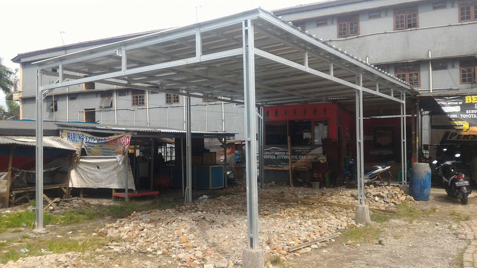 canopy baja ringan murah
