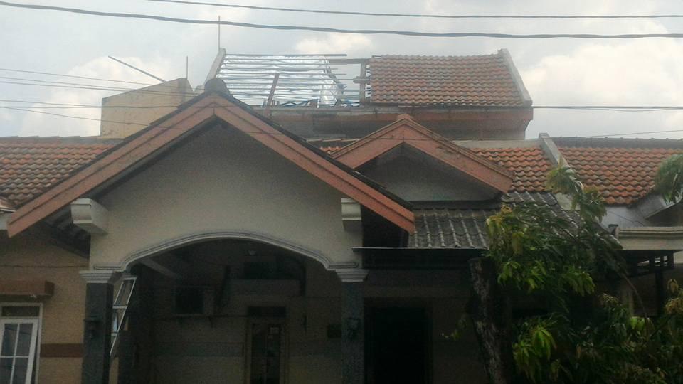 renovasi atap rumah lippo cikarang