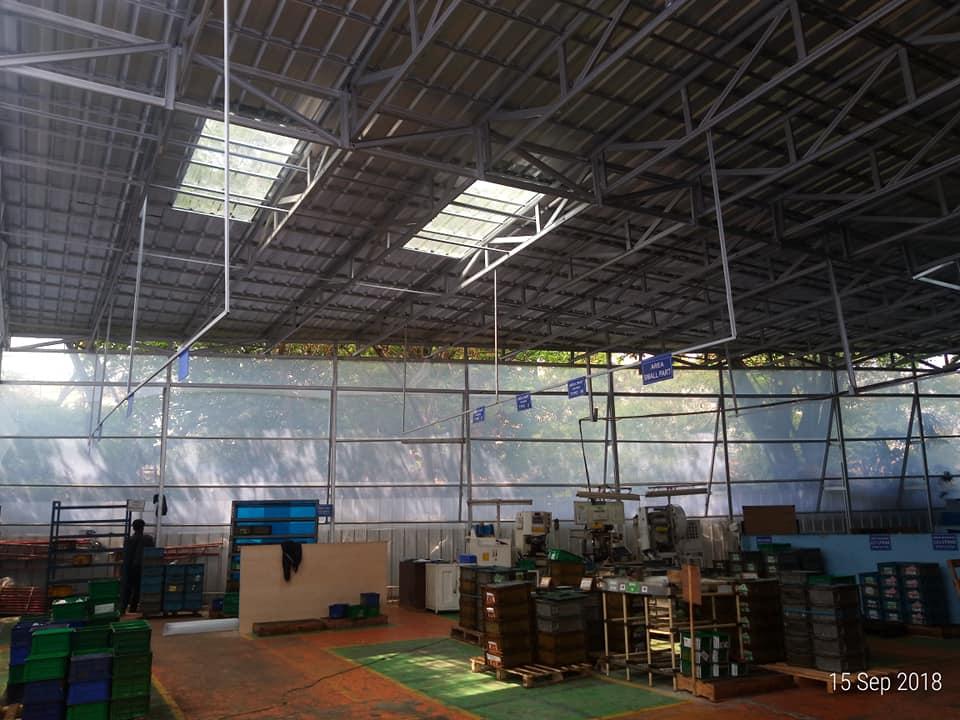 kanopi pabrik di cikarang
