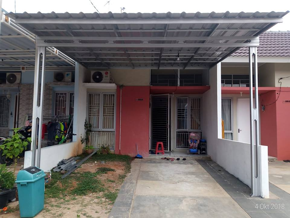 kanopi villa mutiara cikarang 2