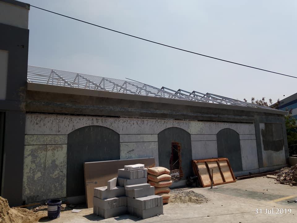 atap kantor gudang