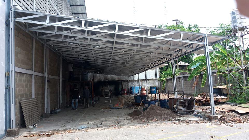 kanopi pabrik jababeka