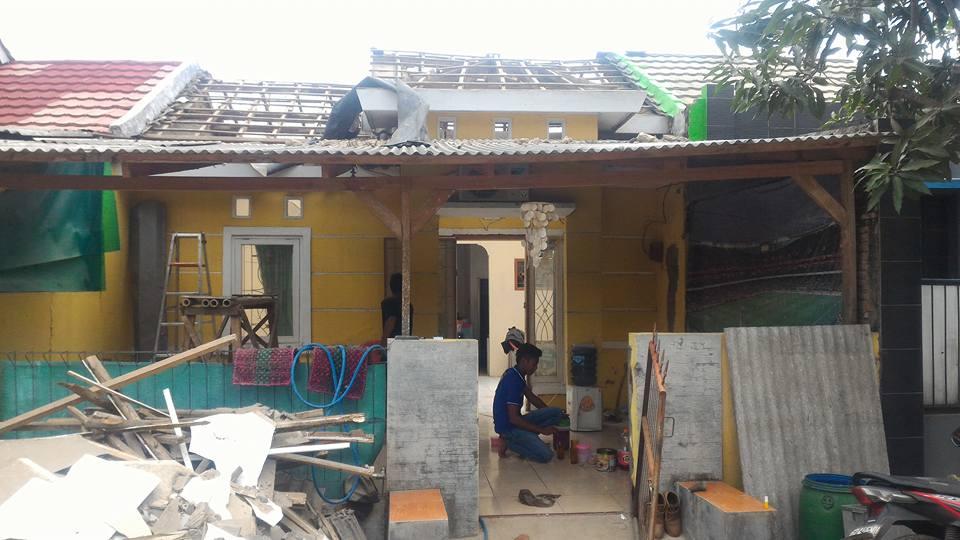 renovasi atap rumah cikarang