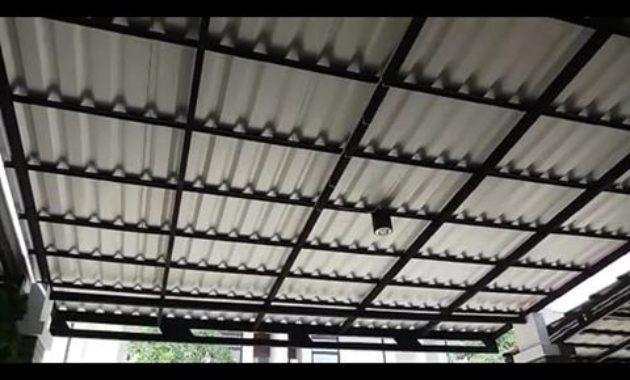 kanopi alderon cat hitam