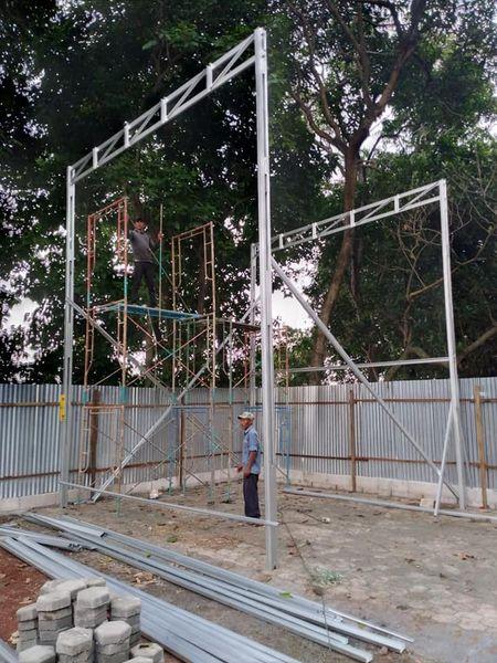 kanopi baja ringan tinggi 5 meter