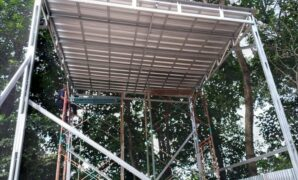 kanopi tingggi 5 meter