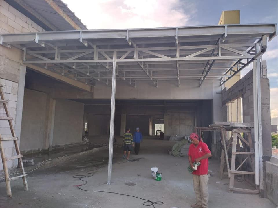 kanopi atap spandeck kliplok