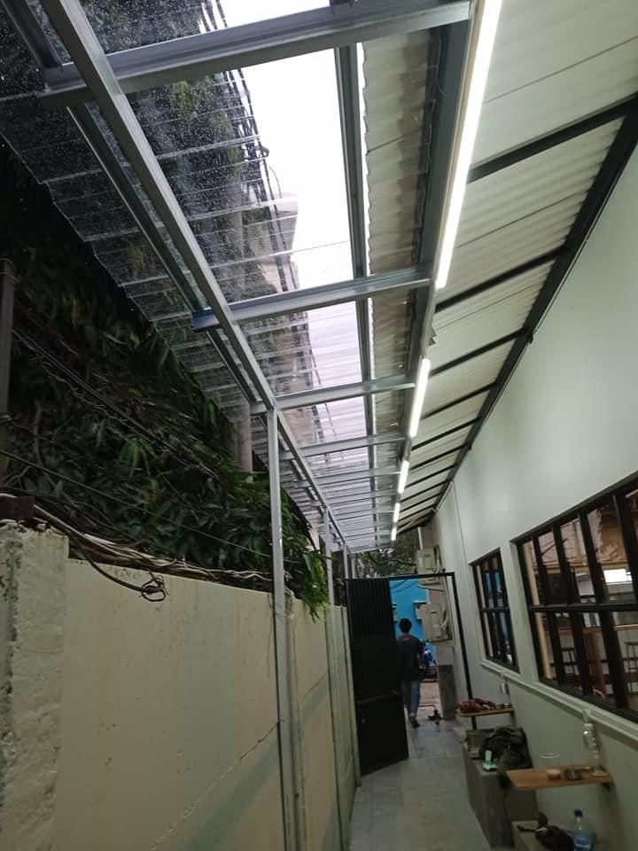 kanopi atap transparan